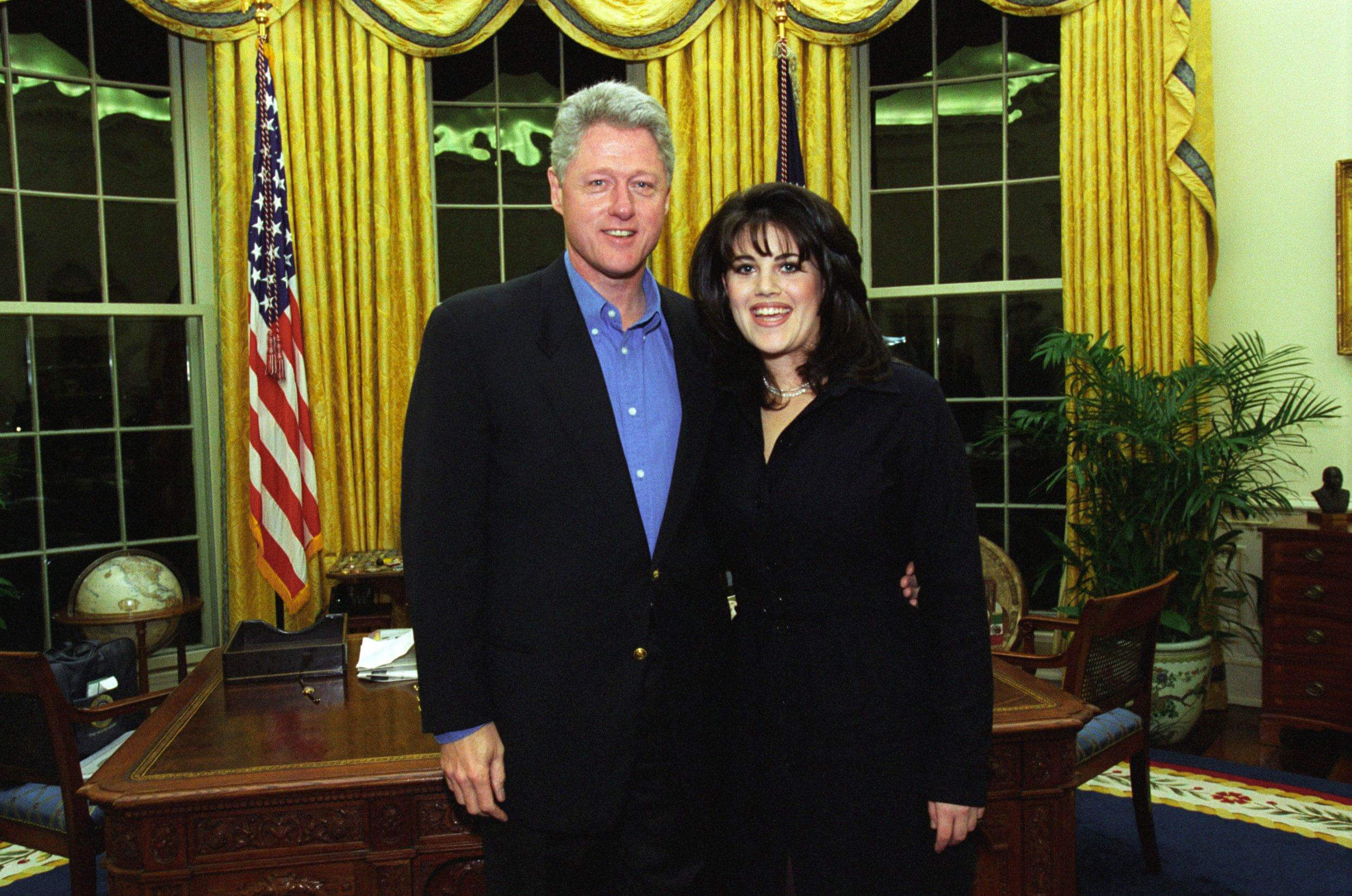 Bill Clinton and Monicaf